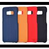USAMS Joe Samsung G955 Galaxy S8+ bőr hátlap tok, piros