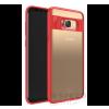 USAMS Mant Samsung G955 Galaxy S8+ hátlap tok, piros