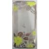 USAMS Season kemény műanyag hátlaptok Apple iPhone 6 4.7, iPhone 6S 4.7-hez sárga*