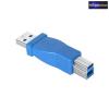 USB 3.0 Adapter A dugó - B dugó