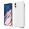 utángyártott Apple iPhone 11 OEM szilikon hátlap tok, fehér