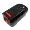 utángyártott Black & Decker Firestorm CD18SK-2 akkumulátor - 2000mAh