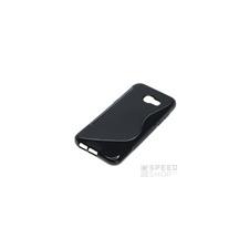 utángyártott Samsung G955 Galaxy S8+ szilikon tok S-line, fekete tok és táska