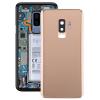 utángyártott Samsung Galaxy S9 Plus hátlap / akkumulátor fedél kamera lencsével, arany