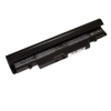 utángyártott Samsung NT-N250, NT-N250P fekete Laptop akkumulátor - 4400mAh