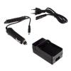 utángyártott Sony DCR-DVD91, DCR-DVD91E, DCR-DVD100 akkumulátor töltő szett