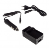 utángyártott Sony DSC-S30, DSC-S50, DSC-S70 akkumulátor töltő szett
