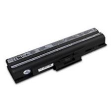 utángyártott Sony Vaio VGN-FW340DW, VGN-FW340J/H fekete Laptop akkumulátor - 4400mAh egyéb notebook akkumulátor