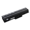 utángyártott Sony Vaio VPC-CW26FX, VPC-CW27FX fekete Laptop akkumulátor - 4400mAh