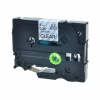 Utángyártott szalag Brother TZ-123 / TZe-123, 9mm x 8m, kék nyomtatás / átlátszó alapon