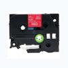 Utángyártott szalag Brother TZ-455 / TZe-455, 24mm x 8m, fehér nyomtatás / piros alapon