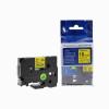 Utángyártott szalag Brother TZ-641 / TZe-641, 18mm x 8m, fekete nyomtatás / sárga alapon
