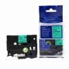 Utángyártott szalag Brother TZ-D51/TZe-D51, rikítós 24mm x 8m, fekete nyomtatás/zöld alapon