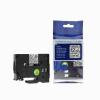 Utángyártott szalag Brother TZ-FX131/TZe-FX131, 12mm x 8m, flexi fekete nyomtatás/ átlátszó alapon