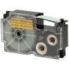 Utángyártott szalag Casio XR-12GD1 12mm x 8m fekete nyomtatás / arany alapon