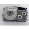 Utángyártott szalag Casio XR-18SR1 18mm x 8m fekete nyomtatás / ezüst alapon