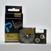 Utángyártott szalag Casio XR-9GD1 9mm x 8m fekete nyomtatás / arany alapon