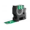 Utángyártott szalag Dymo 1805426, Rhino, 24mm x 5,5m fehér nyomtatás / zöld alapon, vinyl