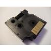 Utángyártott szalag Dymo 45813, 19mm x 7m fekete nyomtatás / arany alapon