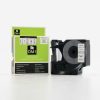 Utángyártott szalag Dymo 53713, S0720930, 24mm x 7m, fekete nyomtatás / fehér alapon