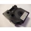 Utángyártott szalag Dymo 53722, 24mm x 7m fekete nyomtatás / ezüst alapon