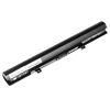 utángyártott Toshiba Satellite Pro S50D-B, S50Dt-B Laptop akkumulátor - 2600mAh (14.8V Fekete)