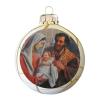 Üvegkarácsonyfadíszek Little Jesus repesztős gömb