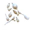 Üvegkarácsonyfadíszek Snow white 12db figura