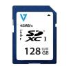 V7 SDXC 128GB CL10 45MB/s