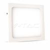 V-tac 18W Felületre szerelhető négyszög LED Panel 3000K - 4919