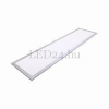 V-tac 29W LED panel (120x30 cm, A++, 3000K meleg fehér, 3600 lumen)