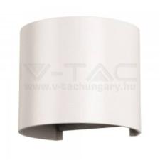 V-tac 6W led fali lámpatest kerek, fehér 3000K - 7082 világítás