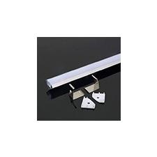 V-tac Aluminium profil LED szalaghoz (3364) Fehér villanyszerelés
