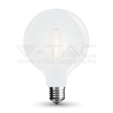 V-tac COG LED opál E27 7W G125 6400K - 7190 világítás