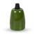 V-tac E27-es porcelán foglalat - zöld