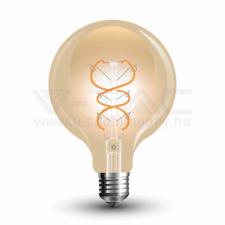 V-tac filament LED amber E27 4W G95 2200K - 7146 világítás