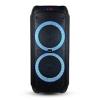 V-tac Karaoke görgős hangfal mikrofonnal (40 Watt) akkumulátor, RGB világítás