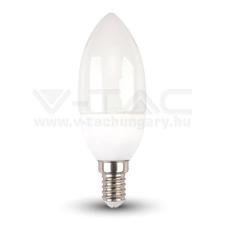 V-tac Led lámpa E14 4W gyertya 4500K - 4166 izzó