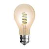 V-tac LED lámpa , égő , izzószálas hatás , körte , E27 foglalat , 4 Watt , borostyán sárga ,...