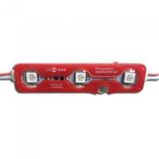 V-tac LED Modul 3SMD Chips SMD5050 IP67 Piros - 5117 világítás