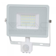 V-tac Led mozgásérzékelős reflektor 30W SAMSUNG chip - fehér - 4000K - 458 kültéri világítás