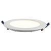 V-tac LED panel mattkróm, kör (24 Watt) természetes fehér