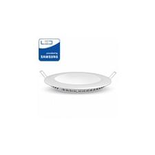 V-tac PRO LED panel (kör alakú) 6W - hideg fehér, Samsung Chip világítás