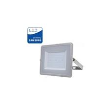 V-tac PRO LED reflektor (100 Watt/100°) Természetes fehér - szürke világítás