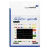 Válogatott mágneses szimbólumok (több méretben,színben)