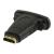 Valueline HDMI™ - DVI adapter, HDMI™ bemenet - DVI aljzat, fekete