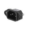 Valueline Tápcsatlakozó Dugasz PVC Fekete VLEP11950B