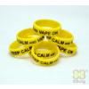 Vape Band Yellow Keep Calm and Vape On