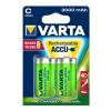 Varta Elem akkumulátor Varta Ready2Use C baby 3000mAh 2 db Ready to use tölthető akku