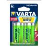 Varta Elem akkumulátor Varta Ready2Use D góliát 3000mAh 2 db Ready to use tölthető akku